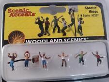 Woodland Scenics Shooting Hoops Basketball #2207 N Scale figures Model Trains