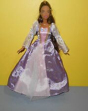 2001 Barbie Rapunzel African American Growing Hair Doll AA Fairy Tale Collection