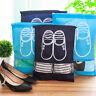 Fashion Portable Travel Shoe Bag Zip View Window Pouch Storage Waterproof Bags