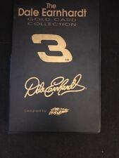 NASCAR 2001 DALE EARNHARDT #3 SAM BASS 6 CARD GOLD CARD 22K WITH COA IN ALBUM