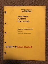 New Holland Sperry 286 Baler Service Parts Catalog 3-77