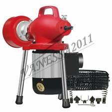 220V Electric Pipe Dredging Machine Kitchen Toilet Drain Cleaner Sewer Dredger