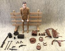 Marx Johnny West Rare Canadian Figure  All Accessories !!!