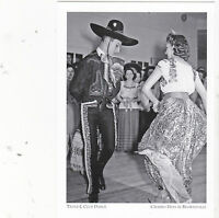 "*Postcard-""Triple L-Club Dance"" -1942-Brownsville Tx /Charro Days Event- (A50-1)"