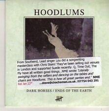 (CN395) Hoodlums, Dark Horses / Ends of the Earth - 2011 DJ CD