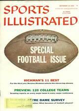 Vintage 1956 Sports Illustrated Football Issue
