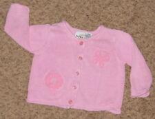 Pink Floral Texture CIRCO18 MO Cartigan Sweater CS