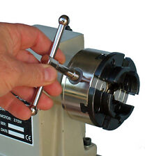 LathePRO WP0202 4in Bevel Gear Chuck with 1in x 8tpi threads