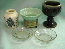 Viintage Decor Pottery Glass Lot Group MCM