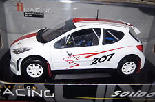 PEUGEOT 207 SUPER 2000 BIANCO 1:18 solido NUOVO & OVP 9068