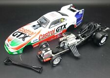 ACTION #1 NHRA JOHN FORCE CASTROL 1998 MUSTANG FUNNY CAR 1/24