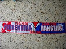 sciarpa FIORENTINA - GLASGOW RANGERS europa league 2008 club calcio scarf