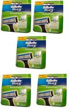 Gillette Blue3 SenseCare Rasierklingen sensible Haut 30 Stk. Sensor Excel Mach 3