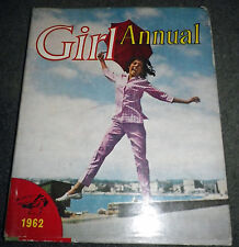 Vintage GIRL ANNUAL 1962 - from Girl Comic - with dust jacket