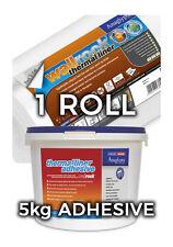 Wallrock 1 Roll Thermal Liner & 5kg Thermal Liner Adhesive