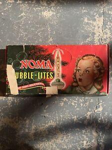 Vintage 40's/50's - Noma - Christmas Bubble Lites - 12 Replacement Set -