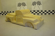 Pinewood Derby Pre-cut #49-30 Chevy Pick Up. Realistic Fenders,  Cool Truck!