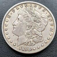 USA 1896 O Morgan Dollar $1 XF Silber #25567