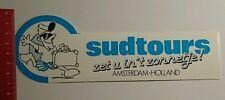 Aufkleber/Sticker: sudtours Amsterdam Holland zet u int zonnetje (0810163)
