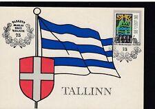 215970 / Maximumkarte Estland Flaggen