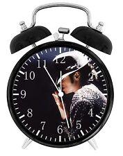 "Michael Jackson Alarm Desk Clock 3.75"" Home or Office Decor E159 Nice For Gift"