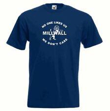 Camisetas de fútbol azul talla XL