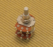 009-1532-000 Alpha Concentric A500k Dual Solid Shaft Potentiometer