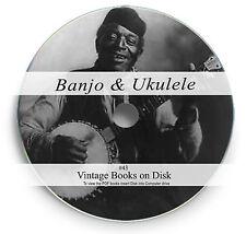 Banjo Ukulele Rare Books on DVD Sheet Music Play Learn Songs Chords Lessons 43