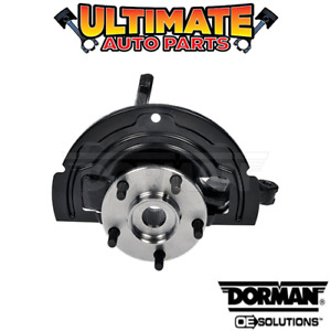 Right Front - Steering Knuckle and Hub (2.5L 4 Cylinder) for 02-06 Nissan Altima