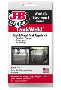 JB Weld Fuel Metal Tank Weld Repair Kit Petroleum Resistant Stop Leaks JB 2110