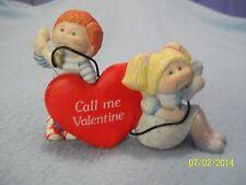 "Cabbage Patch Kids Figurine ""Call Me Valentine""1984 Porcelain Figurine ~ LQQK >>"