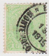(UG-36) 1910 Uruguay 1c green ARTIGAS