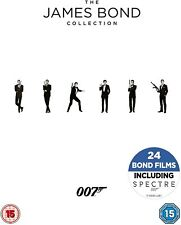 JAMES BOND COMPLETE COLLECTION DVD BOX SET All 24 Movies 007 Films New UK R2 x