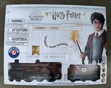 More details for lionel 50 inch (127 cm) harry potter hogwarts express train set with 37 pieces
