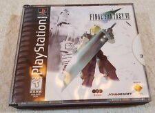 Squaresoft FINAL FANTASY VII (Sony Playstation 1) - Black Label. Complete.