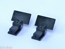 Lid Hinges for Audio Technica Turntables Pair of hinges fits Reloop Stanton etc