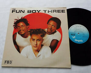 The FUN BOY THREE FB3 FRENCH LP CHRYSALIS CHR 1383 (1982) SPECIALS Synth pop EX