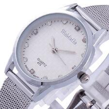 Elegant Crystal Dial Fashion Lady Women Quartz Watch Vintage Dress Reloj Relogio
