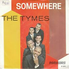 The Tymes DOO WOP 45 + PS (Parkway 891) Somewhere/View From My Window VG++/M-