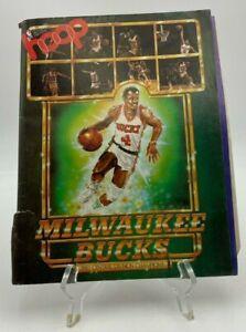 Hoop Magazine - Milwaukee Bucks - 1981 Central Division Champions - NBA Program