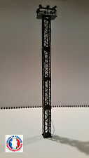 PYL06-HO-Kit pylone / mât eclairage 6 niveaux avec 6 projecteurs blanc froid