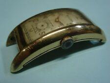 Bulova 7AP Curvex Curved Wristwatch 21 Jewels Running Gold Filled Case