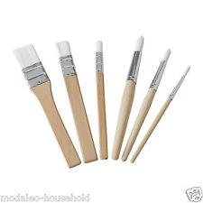 Set di 6 IKEA MÅLA (Mala) in legno Paint Brushes per bambini, multiuso UK-B786