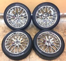 """19"""" 19 Inch Staggered Ford Mustang SVT Cobra Wheels Rims Tires 3865 Set Of 4"""