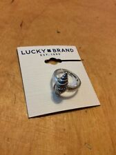 Lucky Brand Silver Shell Ring Size 8  $22.50 #130