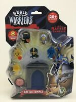 World of Warriors Battle Temple Figures 8 Warrior Toy Mindy Candy Sealed A3 2015
