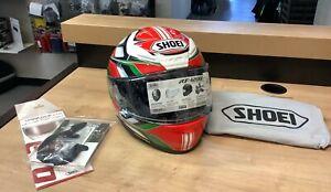 Shoei RF-1200 Full Face Helmet Rumpus TC-4 Size XL 77-12245