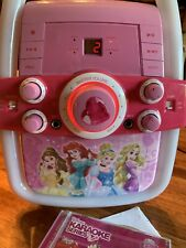 Disney Princess Karaoke Bella Ariel Rapunzel Cinderella Tested Girls Toddler CD