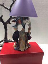 Wizard Dragon Fantasy Mythical Magic Collectibles Votive Lamp Vtg See Descrip—-