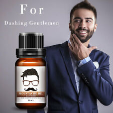 -87% ORGANIC HAIR GROWTH ESSENCE Beard Oil Facial Hair Moustache Oils Pure Beard